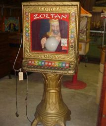 zoltan fortune teller for sale