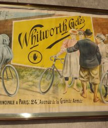 Whitworth Cycle Lithograph Advertisement for sale