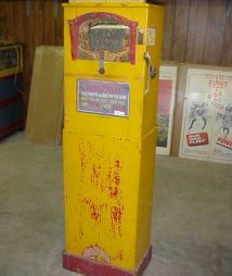International Mutoscope Mystic Mirror fortune teller machine for sale