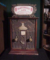 vintage Peterson Medical Electro Battery shockgrip machine