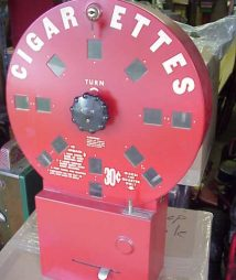 Dial A Smoke Cigarette Vending Machine for sale