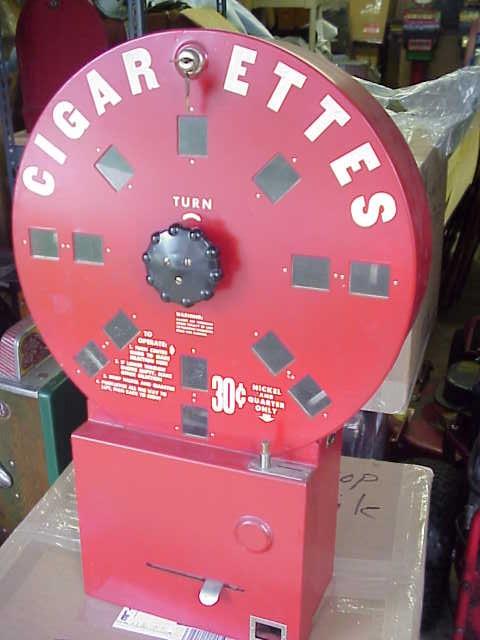 1940 S Dial A Smoke Cigarette Vending Machine Gameroom Show