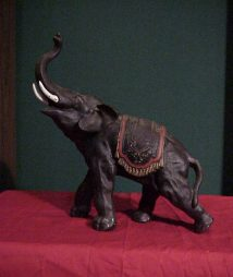 unique antique elephant statue
