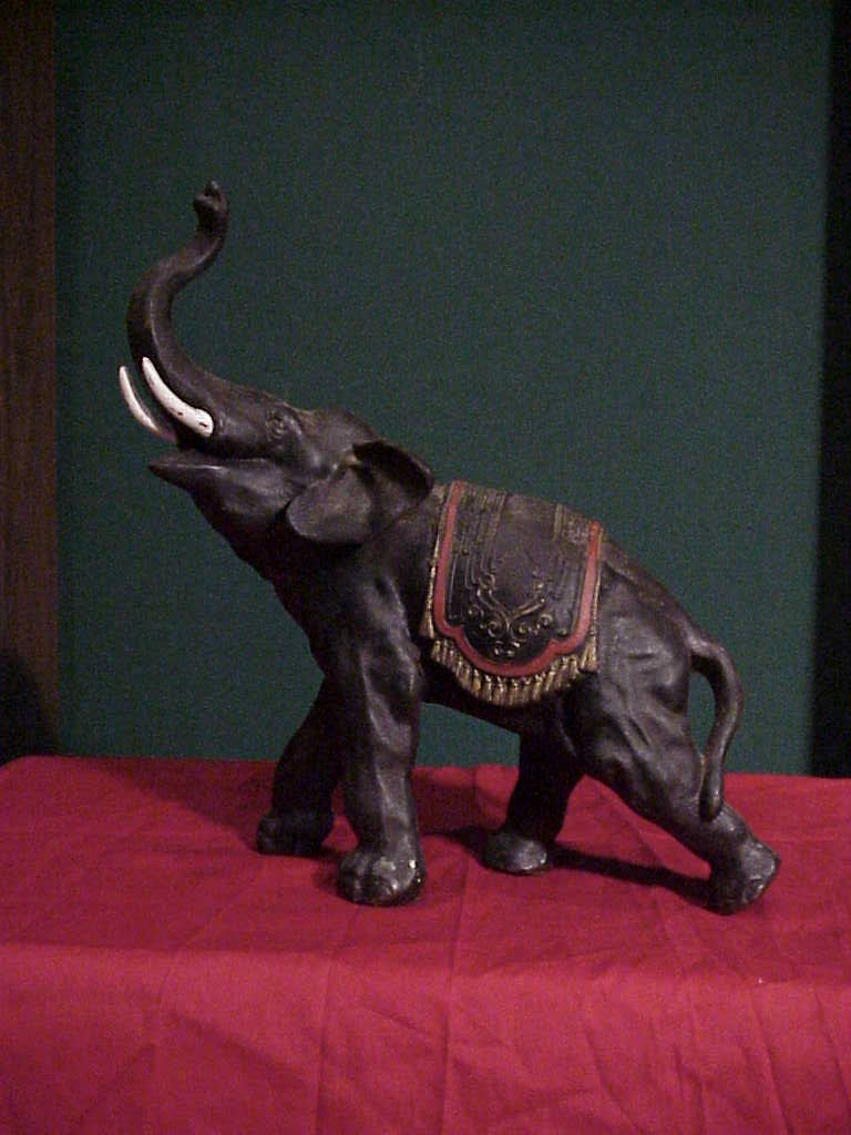 Barnum Bailey Circus Elephant Gameroom Show