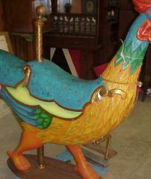Rooster Cockerel carousel for sale