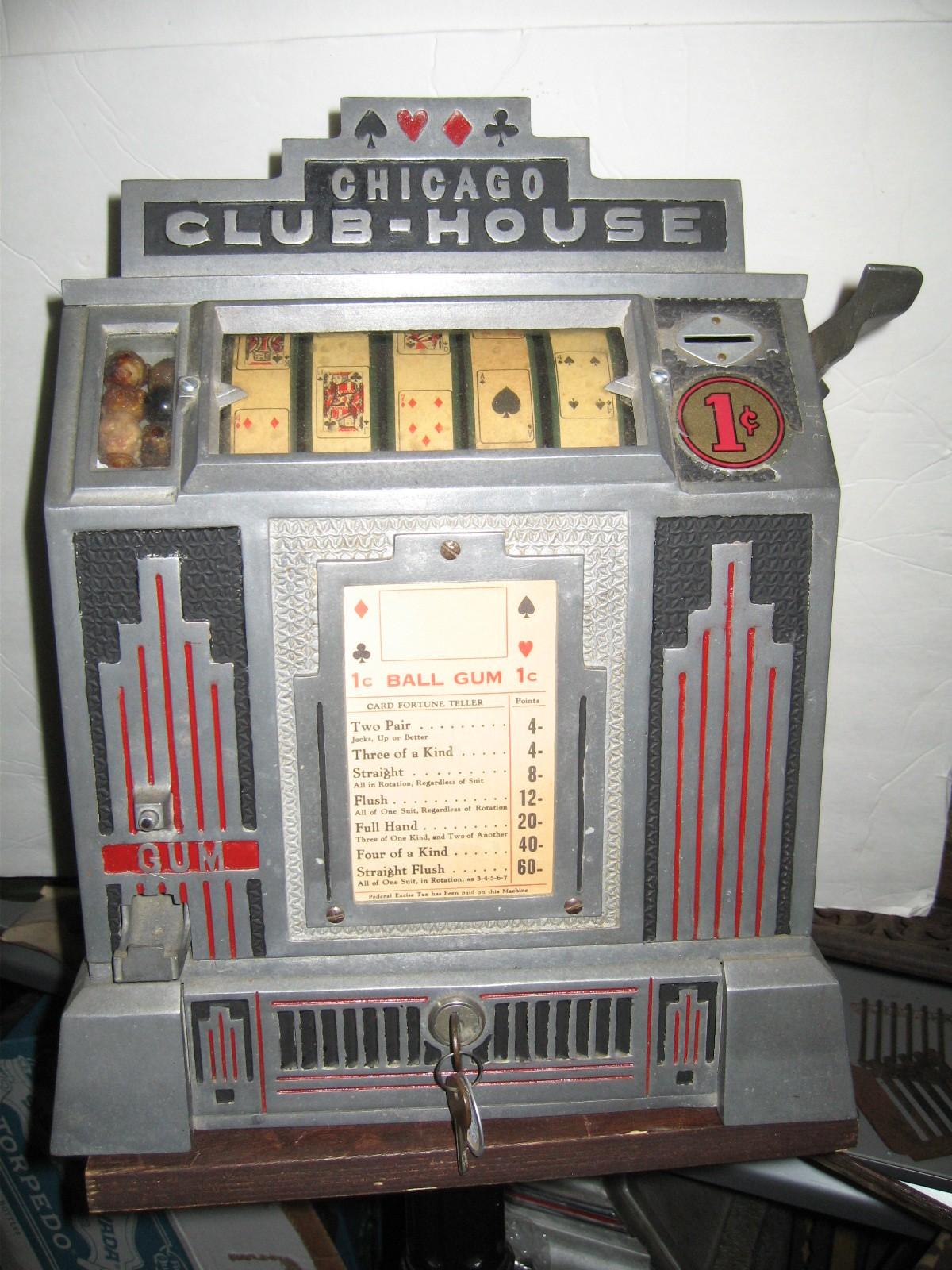 Daval Chicago Club House 5 Reel Trade Stimulator Slot