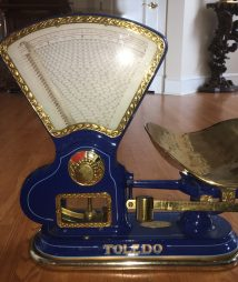 weighing scale toledo vintage