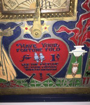 Wizard Fortune Teller Machine Mills Mfg.