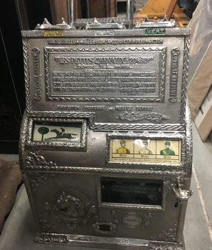Cast Iron Gambling Token Payout Machine, The Little Horse, Les Petits Chevaux