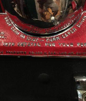 Future Crystal Gazer Fortune Teller Gumball Coin Op Machine