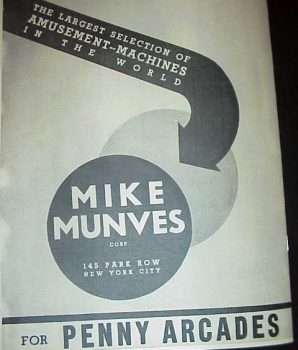 Mike Munves 1939 Catalog