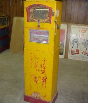 Rare Mystic Mirror Arcade Machine