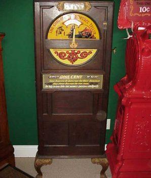 Mills Conjurer Fortune Teller Arcade