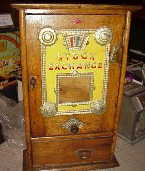 Stock Exchange Rare Gambler Coin-op Device