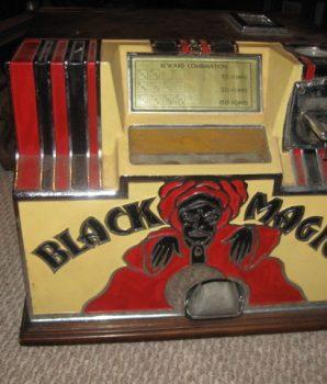 Rock-ola Black Magic Dice Machine